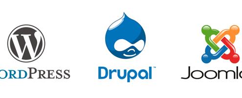 WP Drupal Joomla
