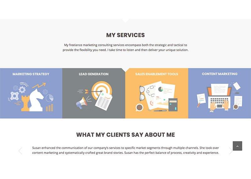 b2b marketing source website design