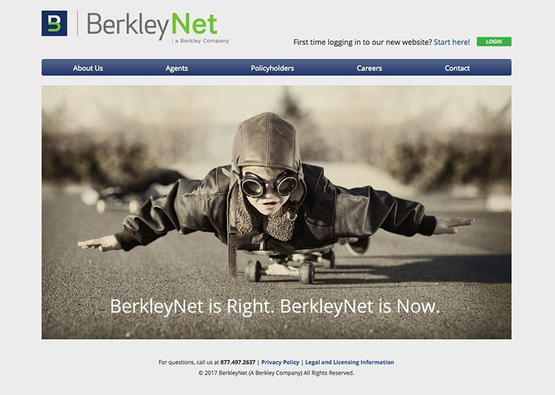 Berkley Net web design and development