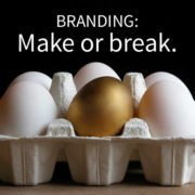 golden egg of branding