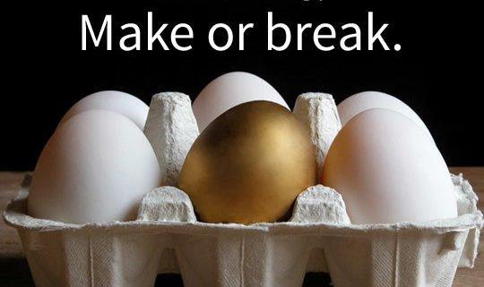 golden egg of branding