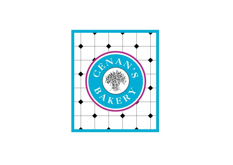 Cenan's Bakery logo design