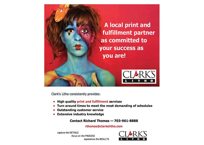 Clark's Printing email campaign design