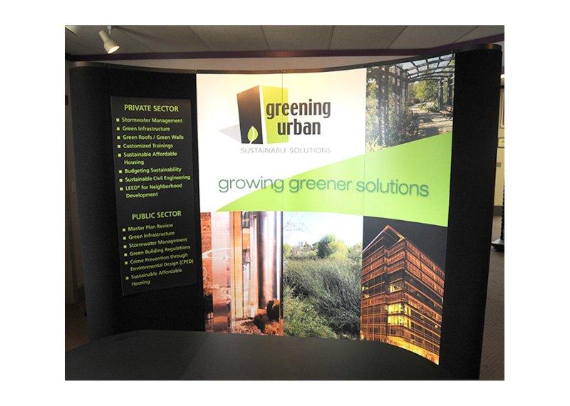 Greening Urban exhibit design