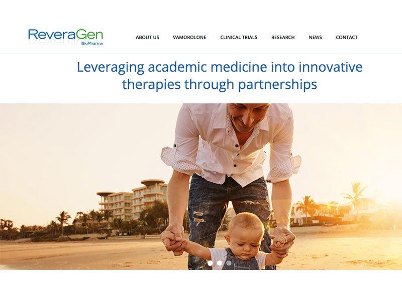 ReveraGen website design