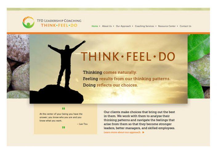 Think Feel Do website