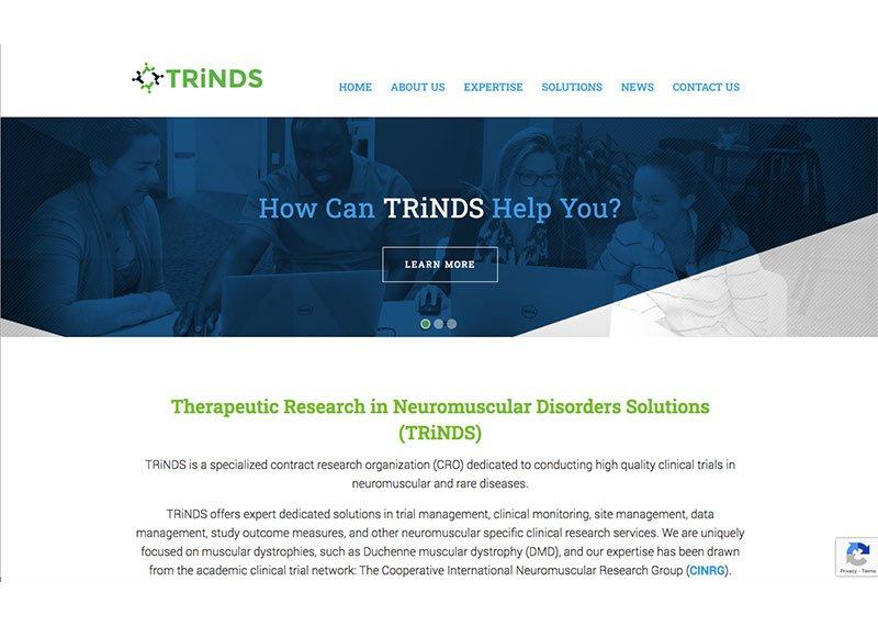 trinds web design and development