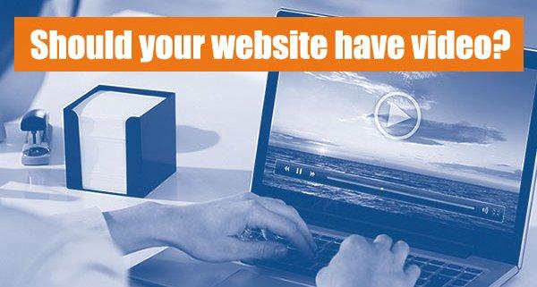adding video to websites