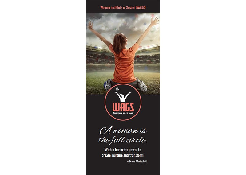 WAGS brochure design